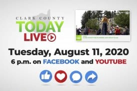 WATCH: Clark County TODAY LIVE • Tuesday, August 11, 2020