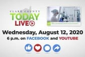 WATCH: Clark County TODAY LIVE • Wednesday, August 12, 2020