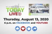 WATCH: Clark County TODAY LIVE • Thursday, August 13, 2020