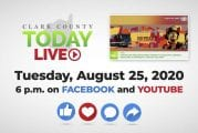 WATCH: Clark County TODAY LIVE • Tuesday, August 25, 2020