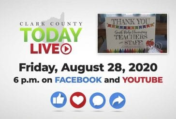 WATCH: Clark County TODAY LIVE • Friday, August 28, 2020