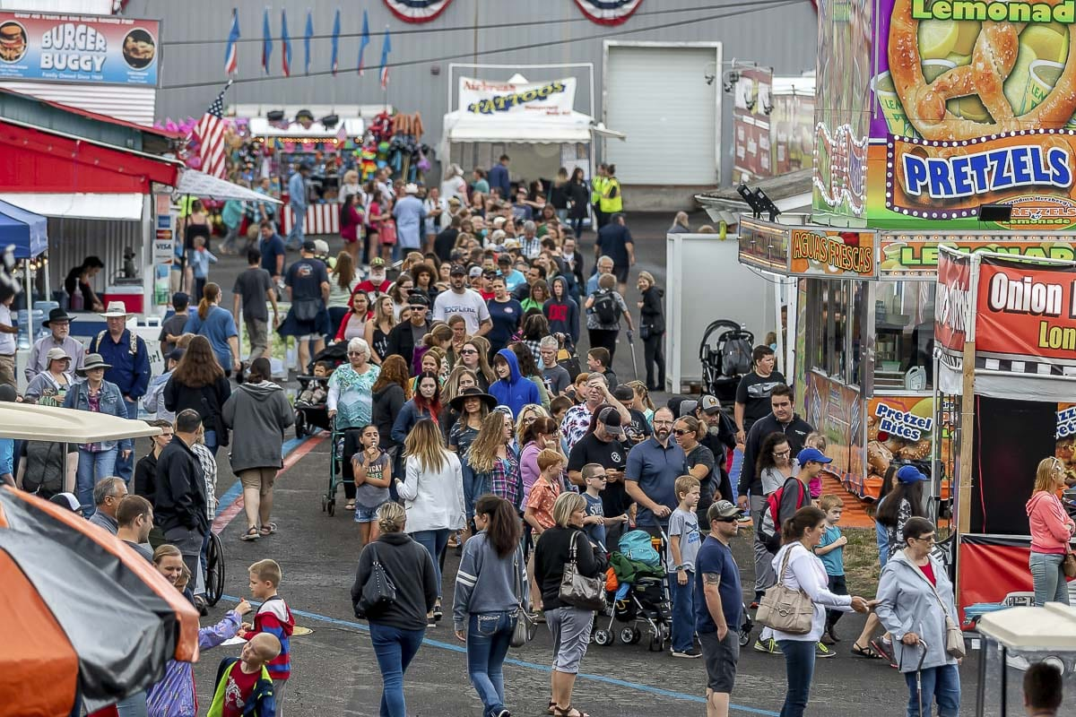 Big crowds flock to the fair every year. But no fair this year. Organizers expect a great fair in 2021. Photo by Mike Schultz