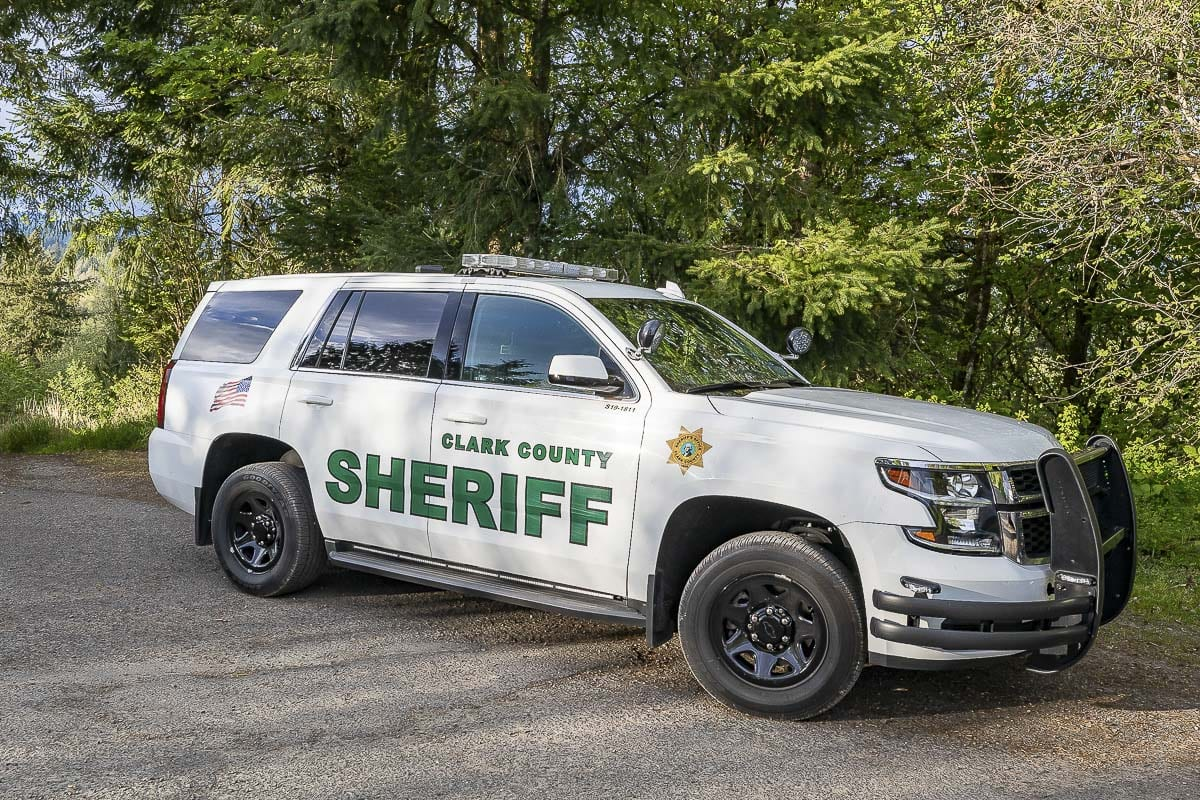 A Clark County Sheriff's Office patrol car. File photo