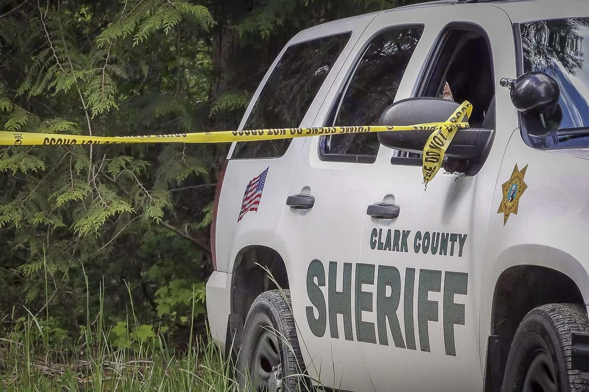 A single-vehicle collision in Yacolt Tuesday claimed the lives of two people according to the Clark County Sheriff's Office. File photo