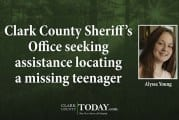Clark County Sheriff's Office seeking assistance locating a missing teenager