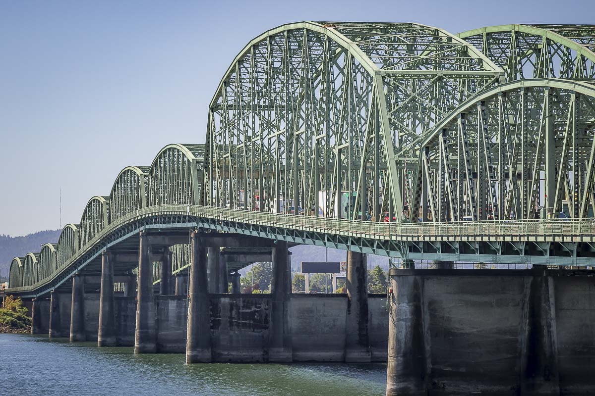 Travelers should expect nighttime lane closures Monday through Thursday nights, Aug. 17-20, on both directions of I-5 over the Interstate Bridge. File photo
