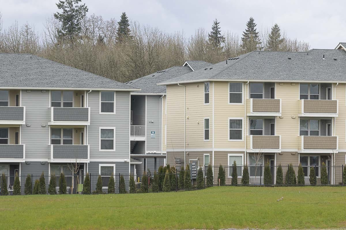 Apartments in North Clark County. Photo by Mike Schultz