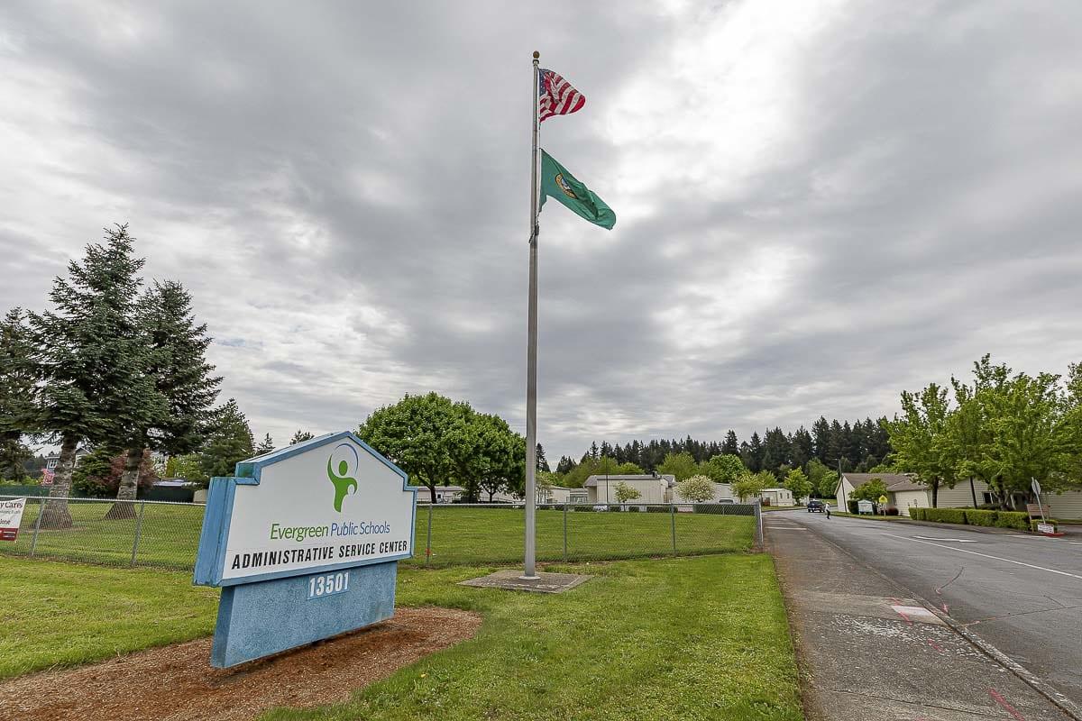 Evergreen Public Schools district headquarters. File photo