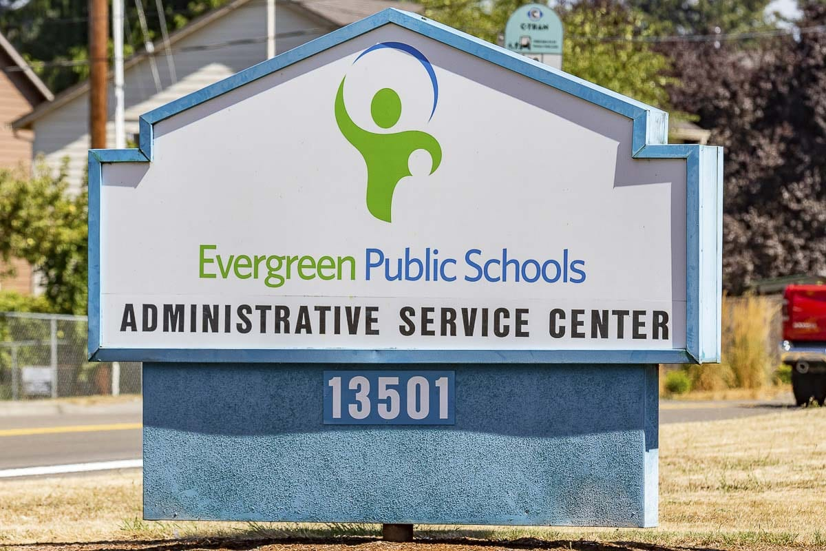 The Evergreen Public Schools administrative office building. File photo