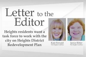 Opinion: Heights residents want a task force to work with the city on Heights District Redevelopment Plan