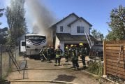 Car crashes into Vancouver home, ignites fire