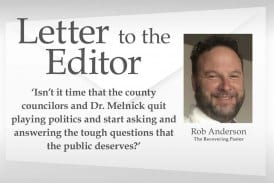 Opinion: 'Isn't it time that the county councilors and Dr. Melnick quit playing politics and start asking and answering the tough questions that the public deserves?'