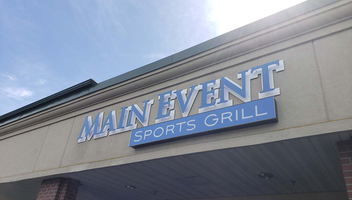 There are two Main Event Sports Grill locations. One in downtown, one on the eastside of Vancouver. Photo by Paul Valencia