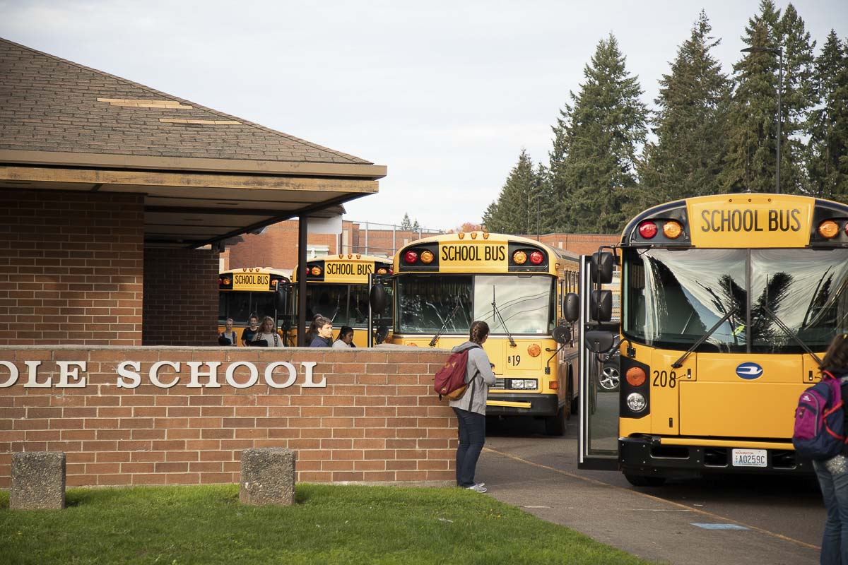 In addition to monitoring infection rates using the state's metrics, school superintendents are coordinating with their health departments to ensure safety for staff returning to school to teach students from the classroom for remote learning 2.0. File photo