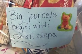 Ridgefield Family Resource Center inspires with Snack Note Project