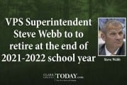 VPS Superintendent Steve Webb to to retire at the end of 2021-2022 school year