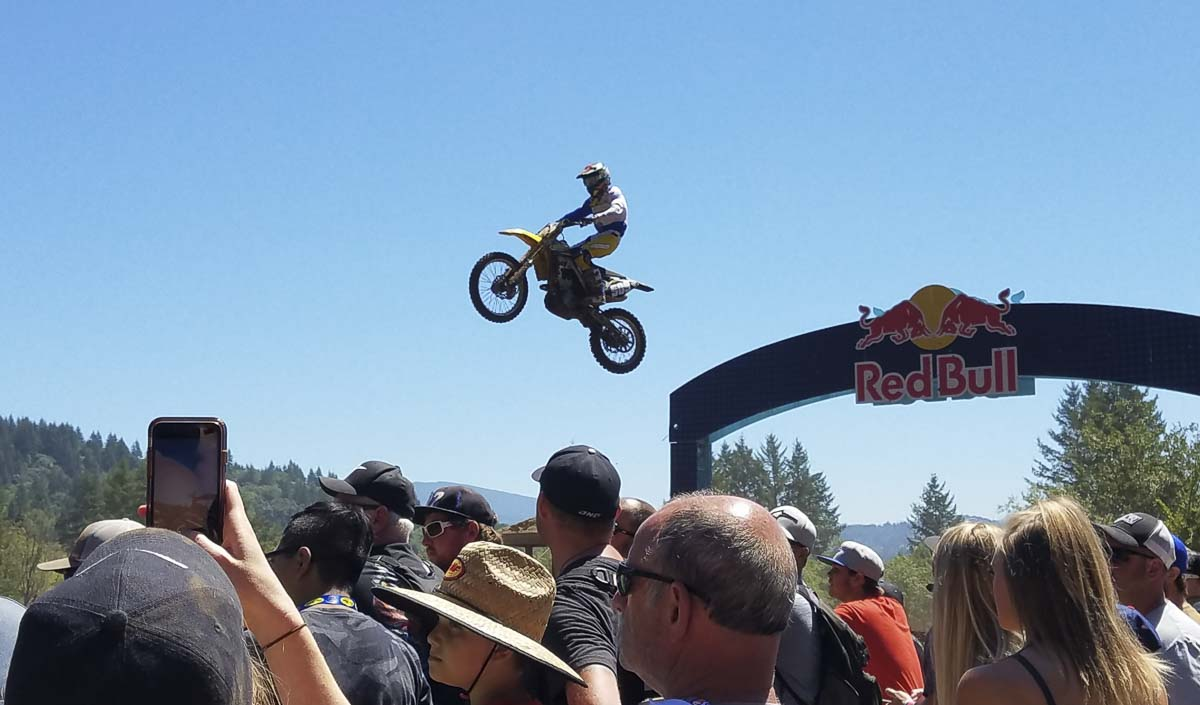The Washougal MX National, scheduled for Aug. 22, was cancelled Friday due to state restrictions regarding the pandemic. Organizers had previously been approved to hold the event, with no fans, but things changed this week. Photo by Paul Valencia