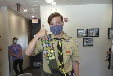 Eagle Scout makes 639 masks for Ridgefield School District
