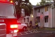 Apartment resident assists in extinguishing fire early Saturday morning