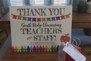 Yard signs recognize Ridgefield teachers