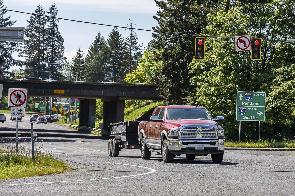 The Southwest Regional Transportation Council is seeking citizen input on several dozen regional transportation projects for the period of 2021 to 2024 including an upgrade of the NE 179th St.'Interstate 5 interchange near the Fairgrounds. Photo by Mike Schultz