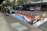 Vancouver Downtown Association creates street murals and new bike amenities