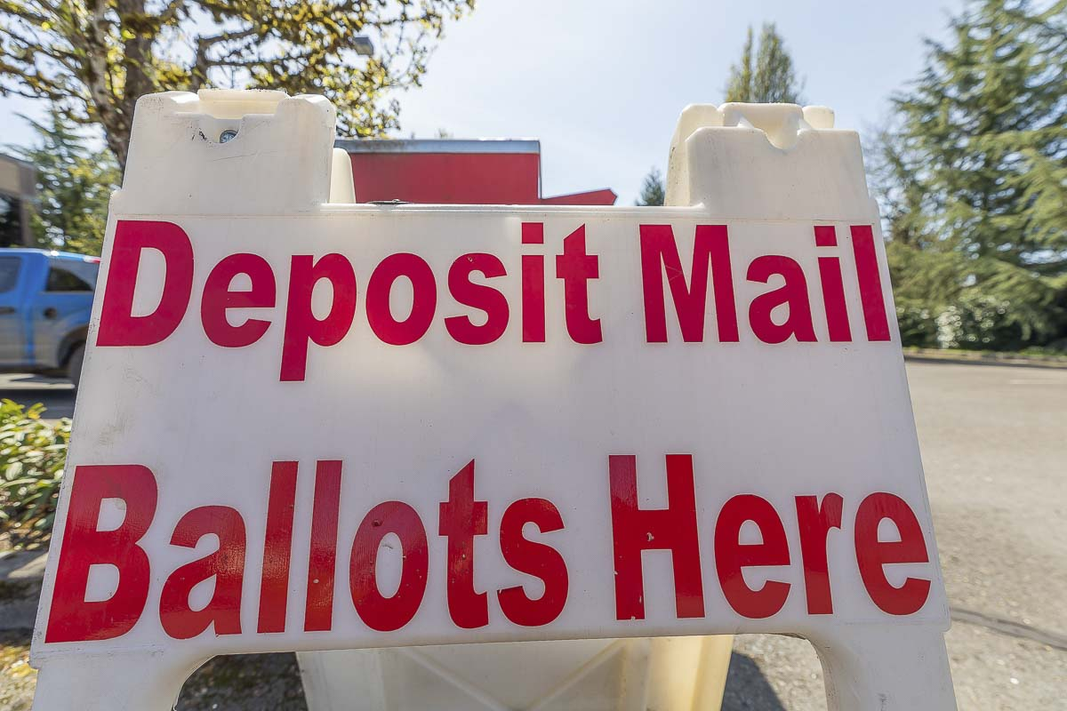 Registered voters who do not receive a ballot in the mail by Wed., Oct. 21 should contact the Elections Office at (564) 397-2345 or elections@clark.wa.gov. File photos