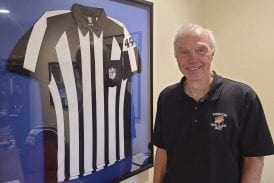 Local referee recalls his stint in the NFL