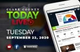 WATCH: Clark County TODAY LIVE • Tuesday, September 22, 2020