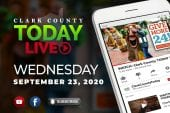 WATCH: Clark County TODAY LIVE • Wednesday, September 23, 2020