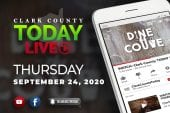 WATCH: Clark County TODAY LIVE • Thursday, September 24, 2020