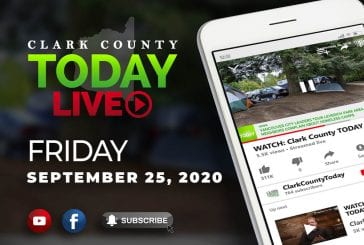 WATCH: Clark County TODAY LIVE • Friday, September 25, 2020