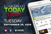 WATCH: Clark County TODAY LIVE • Tuesday, September 29, 2020