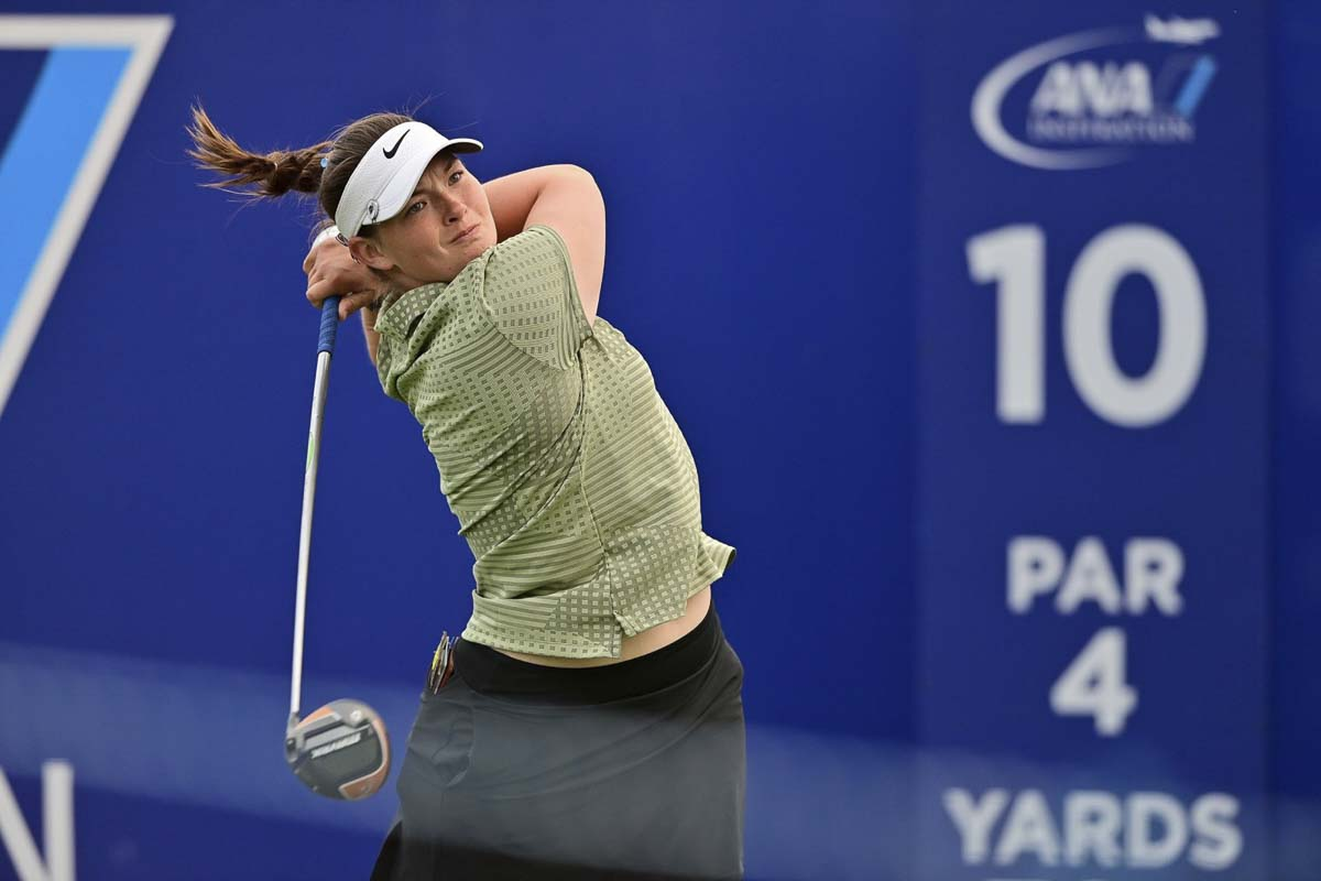 """Caroline Inglis, who starred at the University of Oregon, now calls Vancouver home. She will be playing a """"home"""" tournament at the LPGA's Cambia Portland Classic this week. Photo courtesy LPGA.com"""