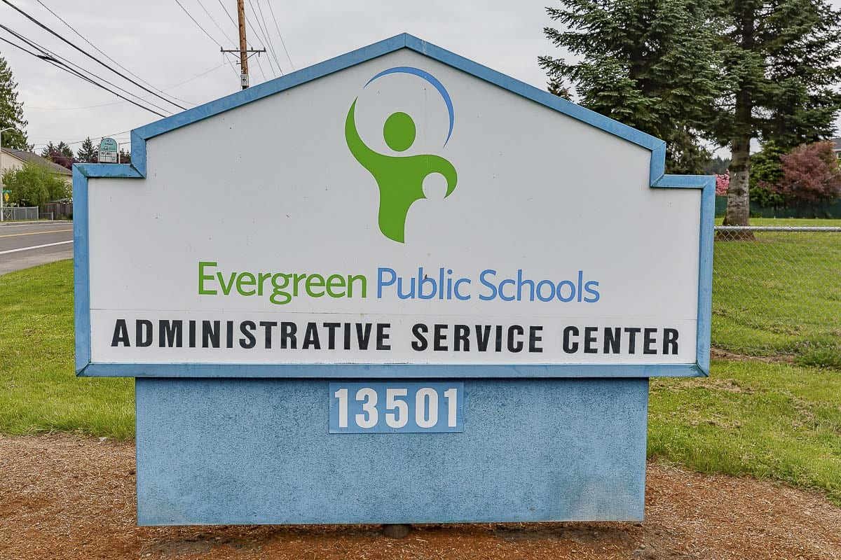 The Evergreen Public Schools administrative offices on Falk Rd. in Vancouver. File photo