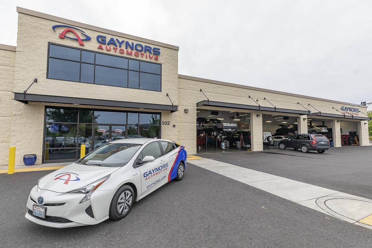 Small businesses such as Clark County-based Gaynors Automotive could face dramatically increased unemployment insurance premiums. Photo by Mike Schultz