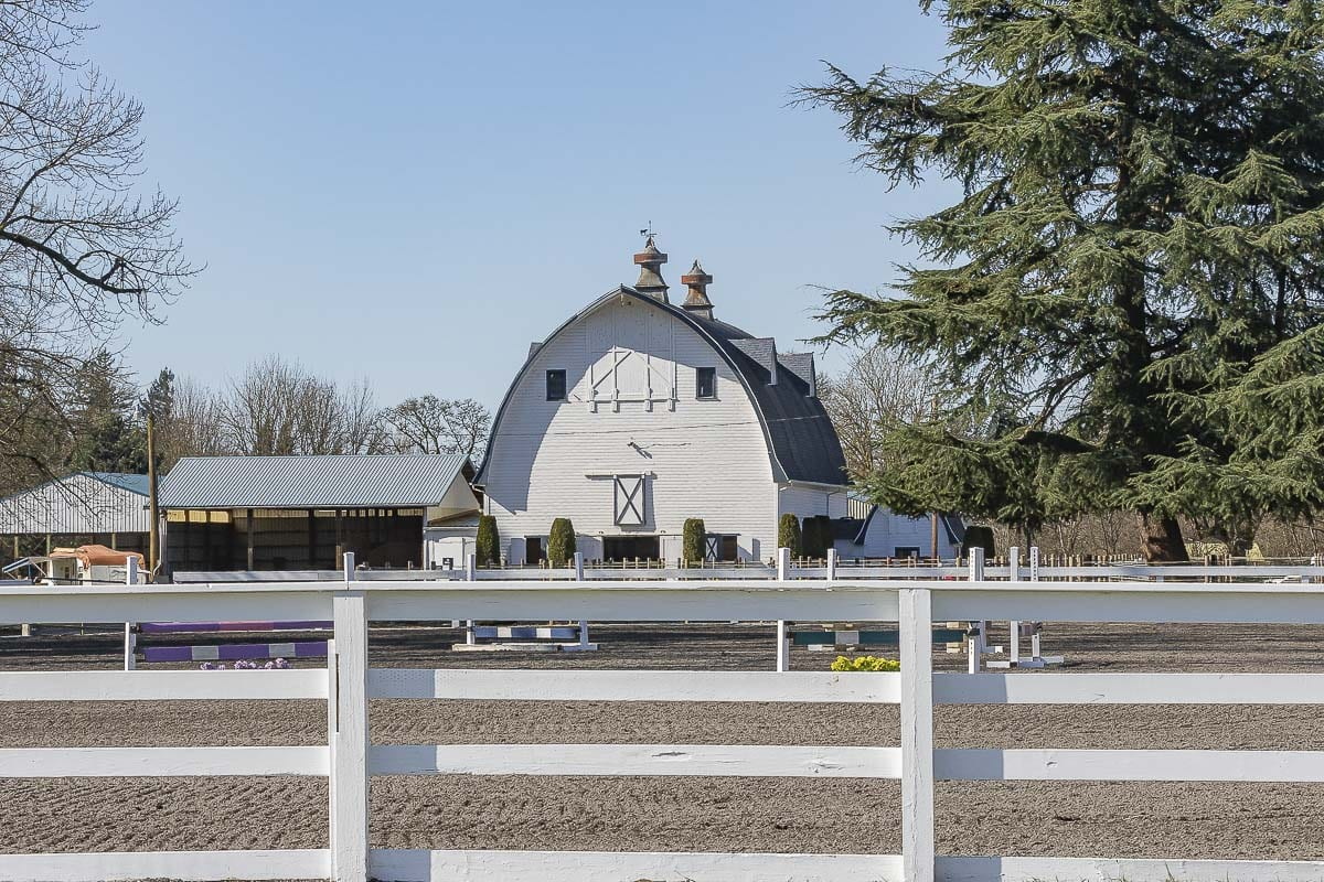 A horse barn near Yacolt. Photo by Mike Schultz