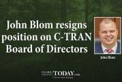 John Blom resigns position on C-TRAN Board of Directors