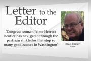 Letter: 'Congresswoman Jaime Herrera Beutler has navigated through the partisan sinkholes that stop so many good causes in Washington'