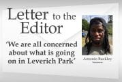 Letter: 'We are all concerned about what is going on in Leverich Park'