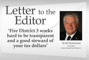 Letter: 'Fire District 3 works hard to be transparent and a good steward of your tax dollars'