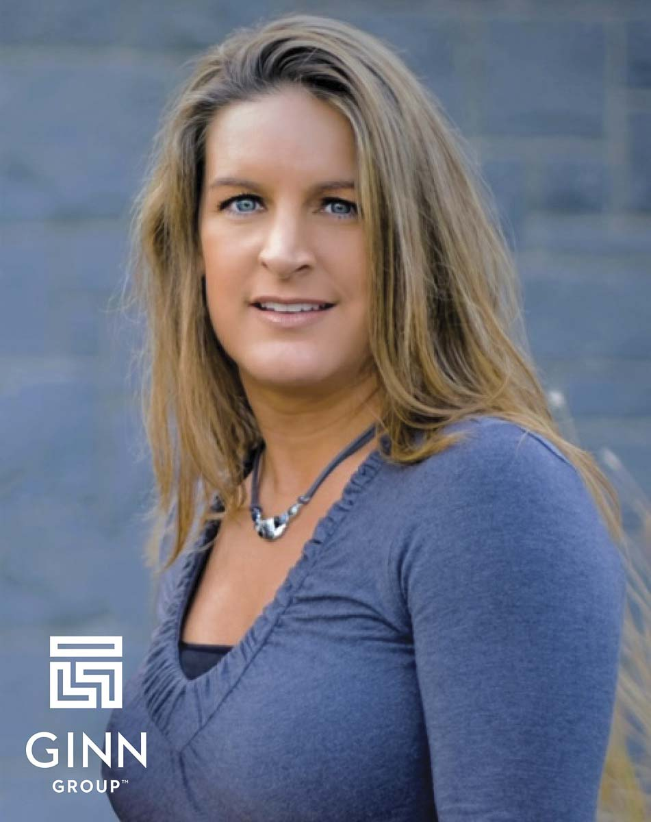 Lisa Harker was working toward a nursing degree in the 1990s but fell in love instead with the building industry. She works for Ginn Group. Photo courtesy Ginn Group