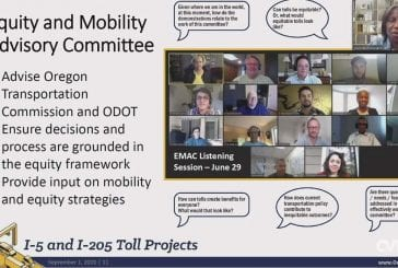 Oregon promises equity as the framework for tolling on I-205 and I-5