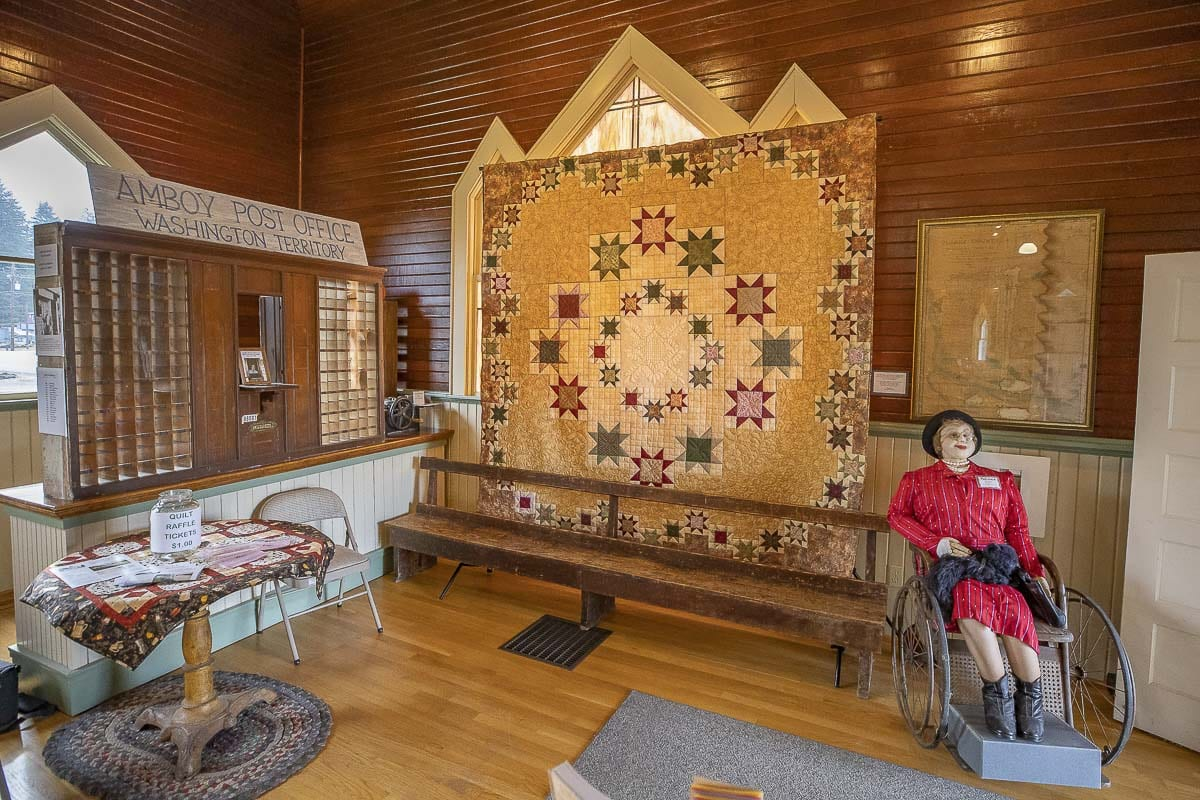 A handmade quilt, much like this one seen here, will be raffled off this weekend. Photo by Mike Schultz