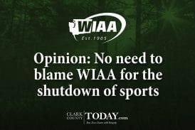 Opinion: No need to blame WIAA for the shutdown of sports