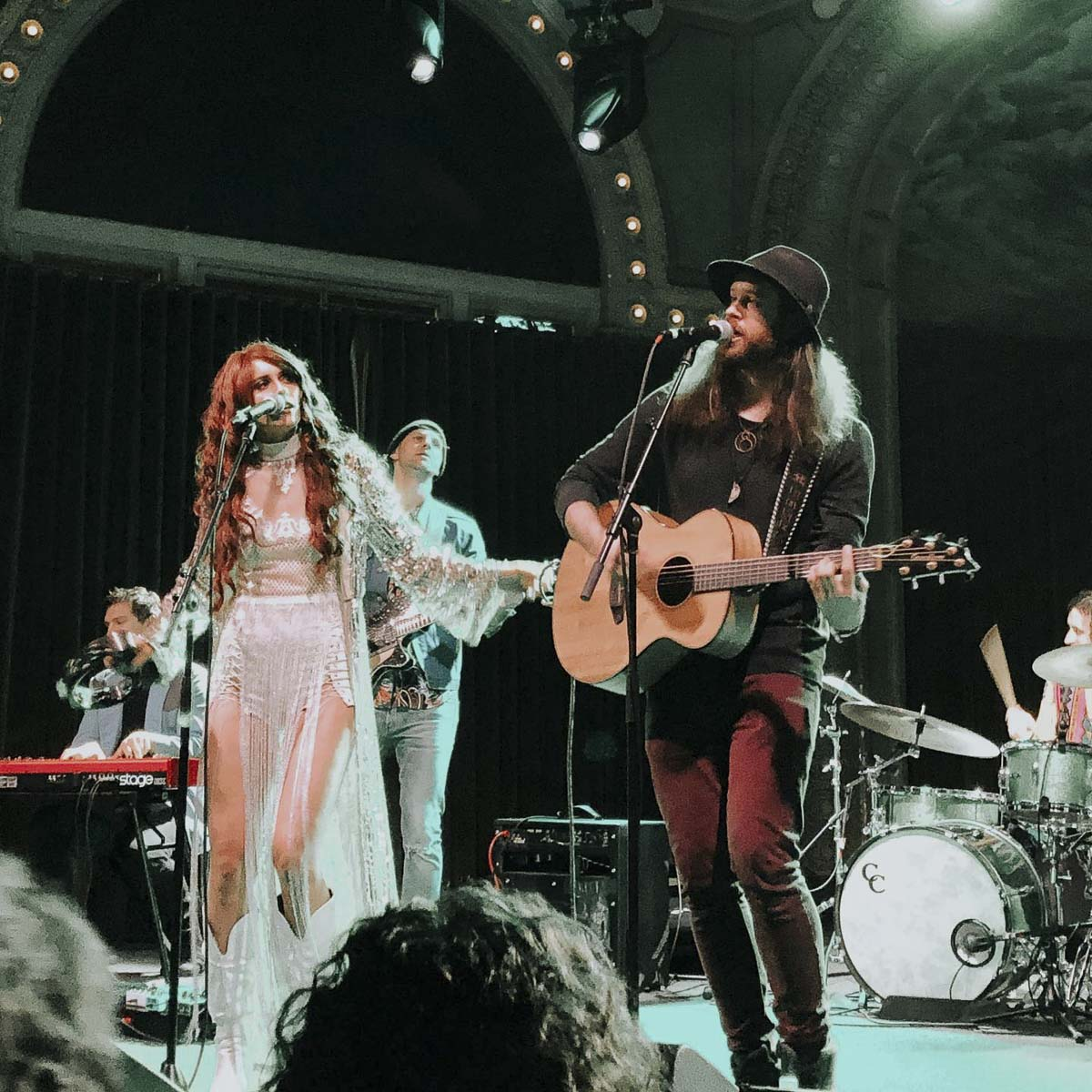 Fox and Bones has performed all over, including many shows right here at home like this one at the McMenamins Crystal Ballroom. Photo courtesy of Fox and Bones