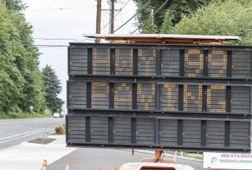 Nighttime lane closures continue on Highway 99