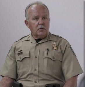 CCSO Sheriff Chuck Atkins here