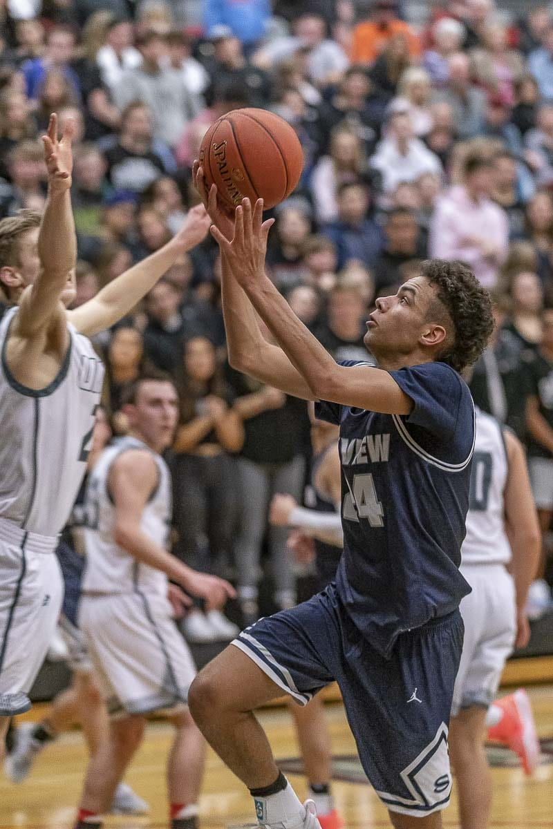 Skyview's Jace Chatman, shown here in 2019, told his coach earlier this summer that he and his family were moving to Utah, to go to a school with in-person classes. Photo by Mike Schultz