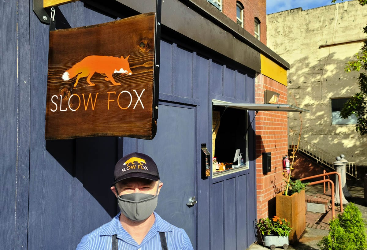 Derek Saner of Slow Fox Chili Parlor is excited to be one of the many restaurants that will take part in Dine the Couve in October. Photo by Paul Valencia